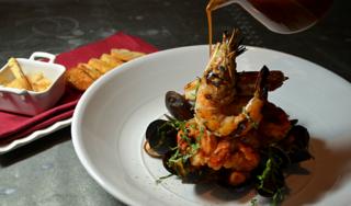 Seafood Dish Olivier