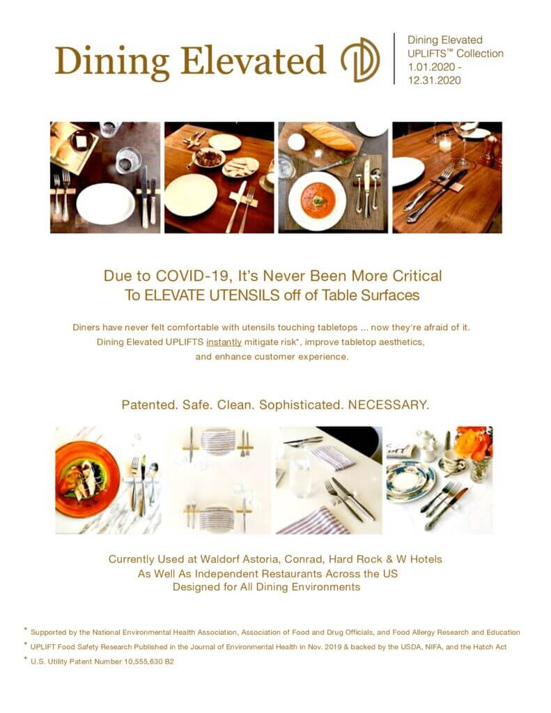 Dining Elevated Collection Brochure
