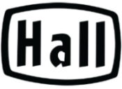 Hall China Only Logo Black 175w