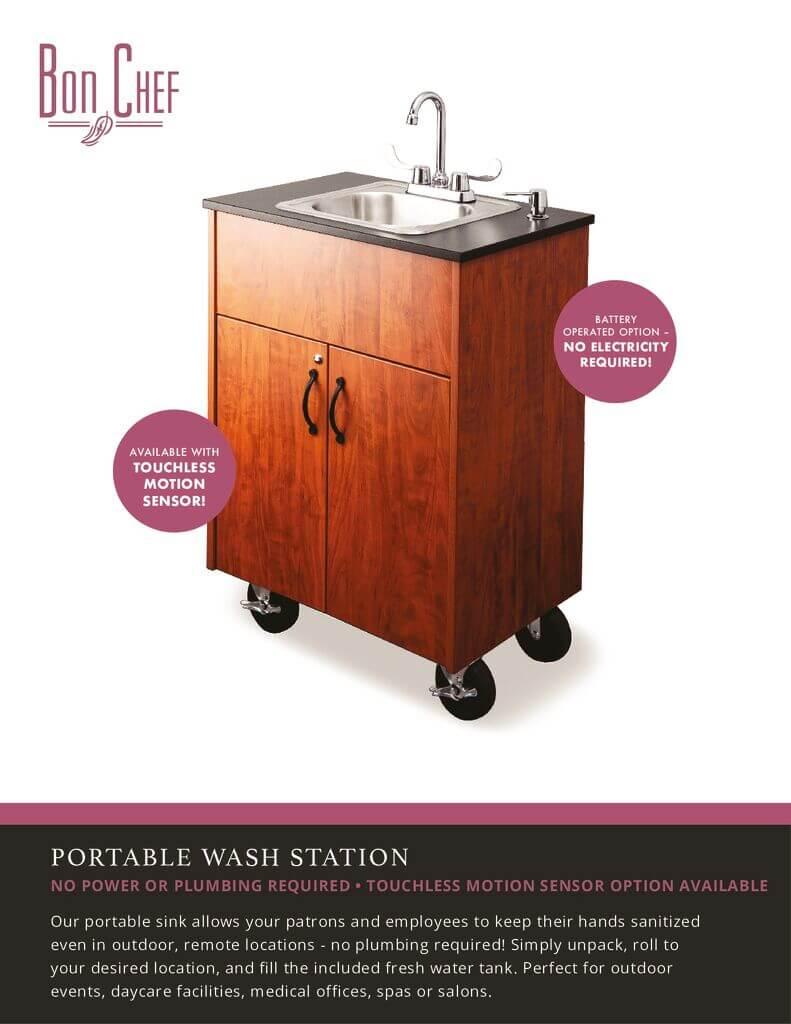 Bon Chef Wash Station