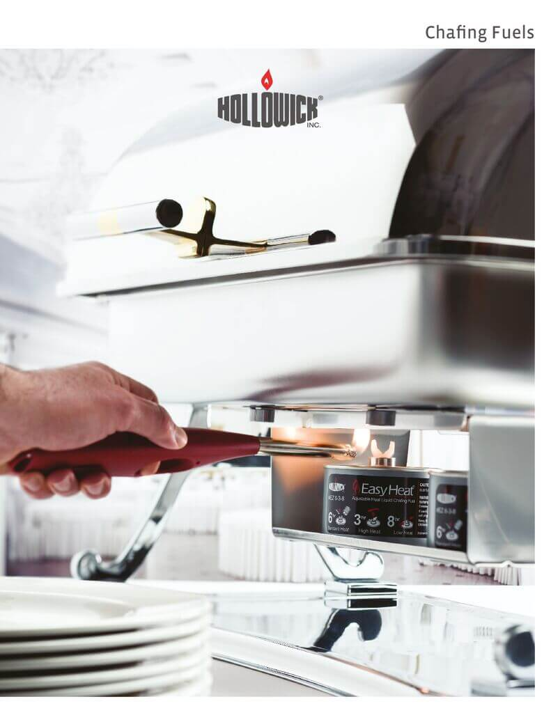 Hollowick Chafing Fuels Brochure