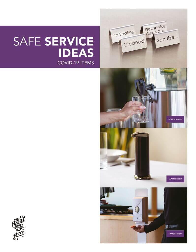 Service Ideas Covid Items Flyer