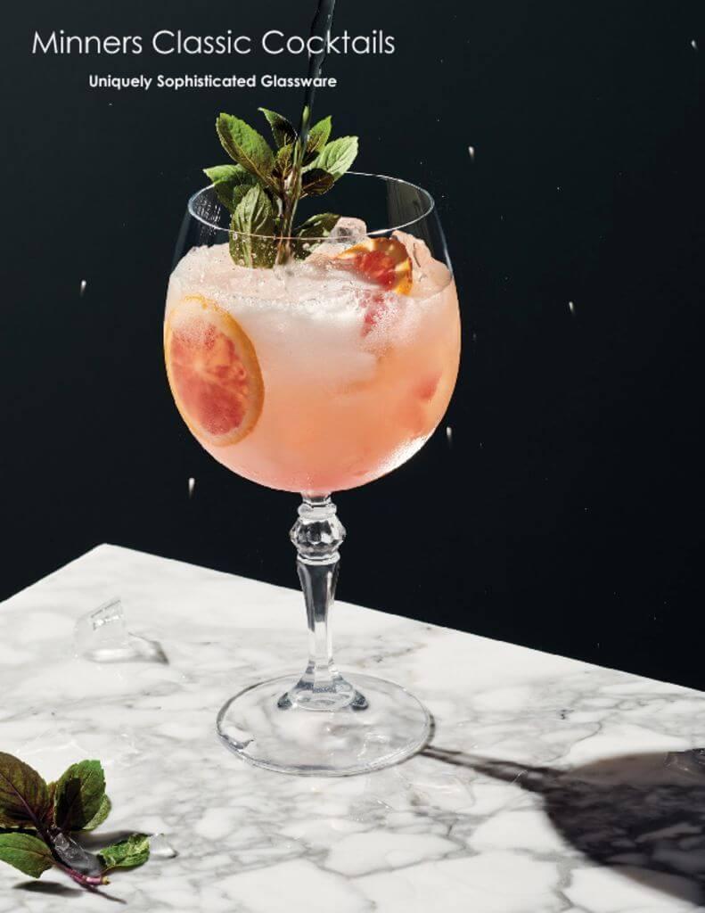 Steelite Minners Classic Cocktails
